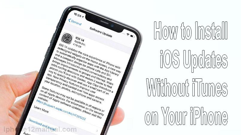 install iOS updates