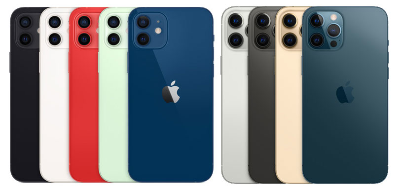 iphone 12 iphone 12 pro color