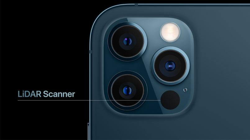 iphone 12 lidar sensor