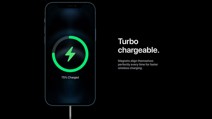 iphone 12 turbo charge