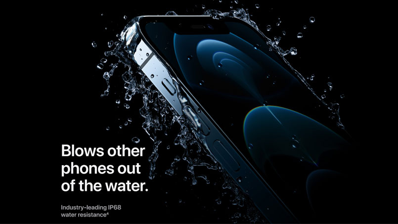 iphone 12 water resistance