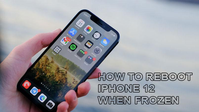 reboot iphone 12
