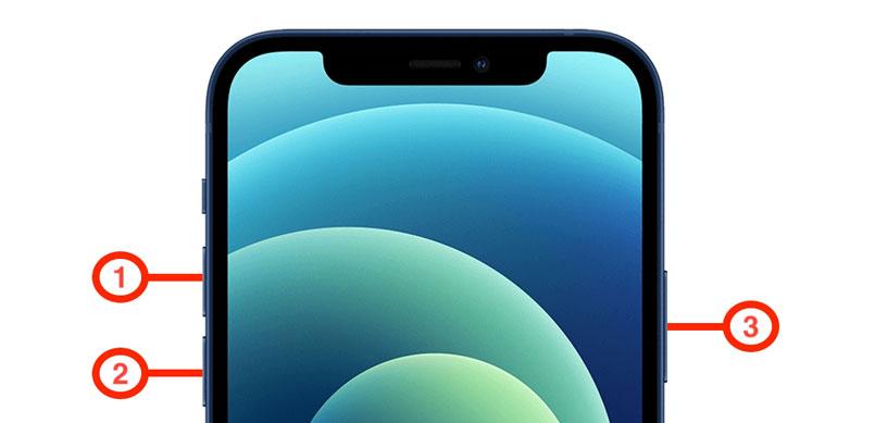soft reset iphone 12
